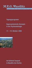 Programm 2008 - MEG Wandlitz