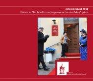 """Jahresbericht 2010 - Stiftung """"Großes Waisenhaus zu Potsdam"""""""