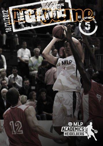 The Game Magazin 05, (18.11.2012) - USC Heidelberg