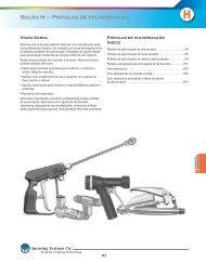 Seção H – Pistolas de pulverização