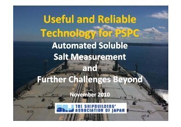 Soluble Salt Measurement - ASEF - Asian Shipbuilding Experts