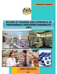 prp - Bahagian Perkhidmatan Farmasi