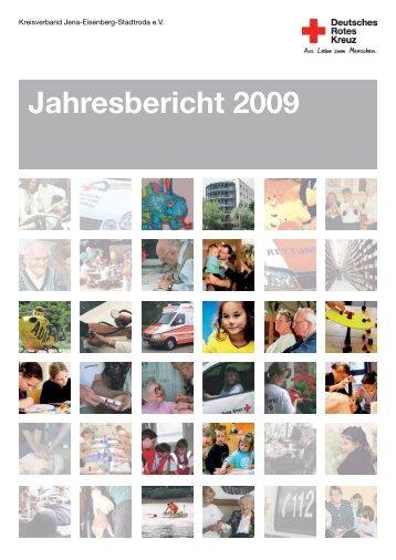 Jahresbericht 2009 - DRK-Kreisverband Jena-Eisenberg-Stadtroda ...