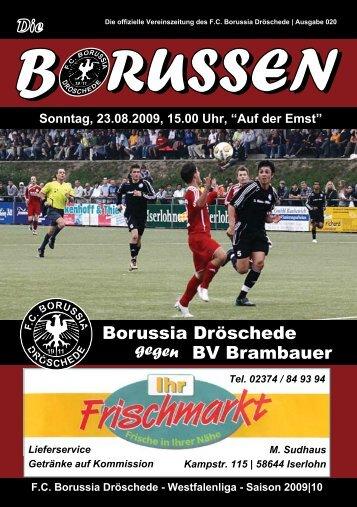 b russen - FC Borussia Dröschede 1911 eV