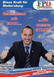 ...für unsere STADT! - FPÖ Burgenland