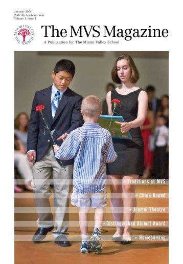 TheMVSMagazine - The Miami Valley School