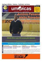 2010/2011 com 34 cursos pós laborais - UMdicas - Universidade do ...