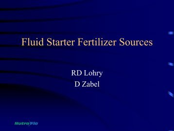 D Zabel - Fluid Fertilizer Foundation