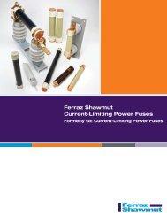 Ferraz Shawmut Current-Limiting Power Fuses