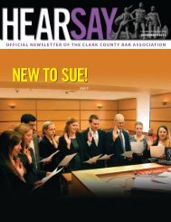 Nov '12 - inside pages - Clark County Bar Association