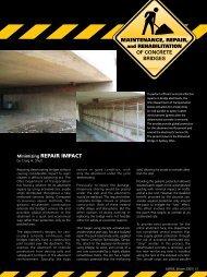 Maintenance, Repair & Rehabilitation of Concrete Bridges—Winter ...
