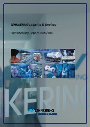 Sustainability Report 2009/2010 - Lehnkering