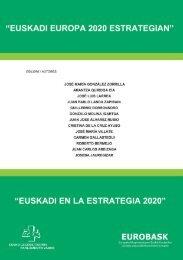 """Jornada: """"Euskadi en la Estrategia Europa 2020"""" - Eurobask"""