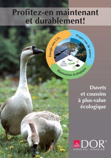Produits écologique - Dorbena AG