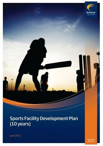 Sports Facility Development Plan (10 years) - Brimbank City Council