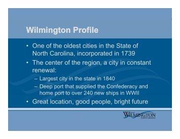 Intro To City Govt. - City of Wilmington