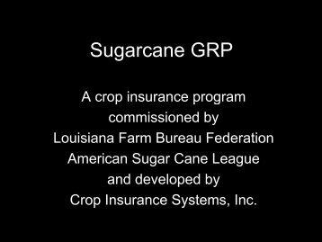 Sugarcane GRP
