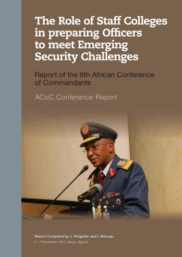 7476 ISS 6th ACoC Conf Report 2nd.indd - African Conference of ...