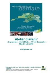 6 juin 2006 Lapanouse Saint Martin Val de Caussels - Albi