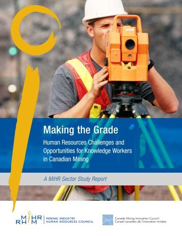 Making the Grade – A MiHR Sector Study Report