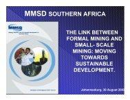 MMSD SOUTHERN AFRICA