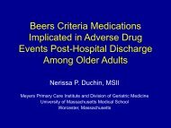 Beers Criteria Medications Implicated in Adverse Drug Events Post ...