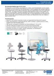 Produktinformation Labster Laborstühle - BERNER International ...