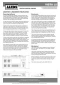 Vista L5 Technical Specification Sheet - Jands - Page 2