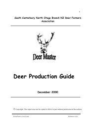 Deer Master Manual.pdf - Deer Industry New Zealand