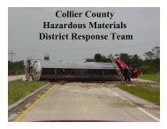 Collier County Hazardous Materials District Response Team