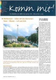 DOWNLOAD Komm Mit Nr 02 - November 2006 - Generation 1-2-3