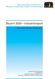 Bayern 2020 - Industriereport - bayern photonics eV
