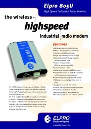 ELP-04-53/01 805U Data sheet - TR instruments