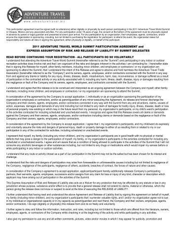 View Printable Version - Adventure Travel Trade Association