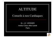 altitude - conseils a nos cardiaques - Club des Cardiologues du Sport