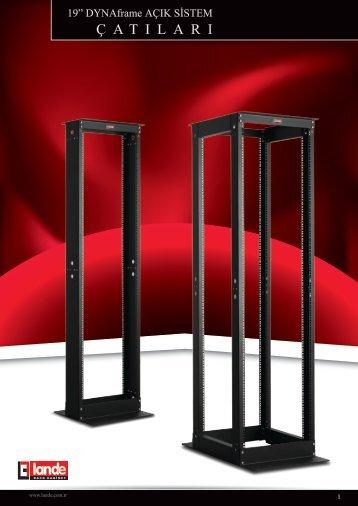 DYNAframe Çiftli Çatı d80 Frame Ünitesi W530xD1070mm ... - LANDE
