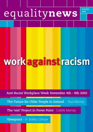 Anti-Racist Workplace Week November 4th - 8th ... - Equality Authority