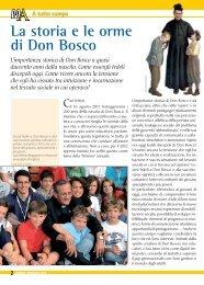 La storia e le orme di Don Bosco