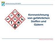 Winterschulung 2012/2013 - Staatliche Feuerwehrschule Würzburg