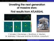 First results from ATLASGAL - Mpifr-bonn.mpg.de