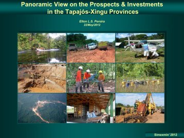 Panoramic View on the Prospects & Investments in the ... - ADIMB