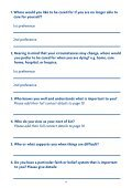 St Christopher's Hospice: Advance care plan - London Health ... - Page 4