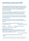 St Christopher's Hospice: Advance care plan - London Health ... - Page 7