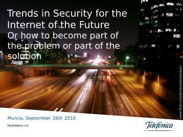 Curves Ahead: Trends in Security for the Internet of the Future
