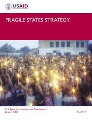 USAID Fragile States Strategy - The Air University
