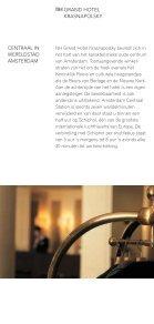 een bijzondere ervaring a unique experience grand hotel ... - RIPE 58 - Page 4