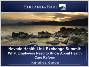 What Employers Need to Know About Health Care Reform