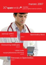 Pobierz biuletyn (PDF) - Activeweb Medical Solutions