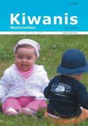 bericht von Governor Peter Wüllenweber - Kiwanis
