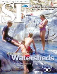 Managing Our Watersheds: A Systems Approach to Maintaining ...